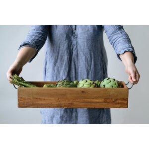Casual Country Wood Serving Tray