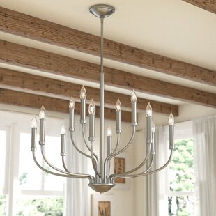 Gracie Oaks Kieu 12-Light Chandelier
