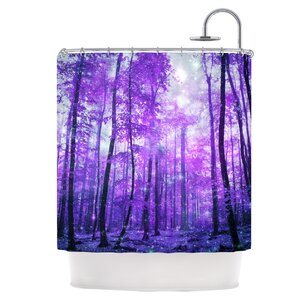 Woods Shower Curtain East Urban Home