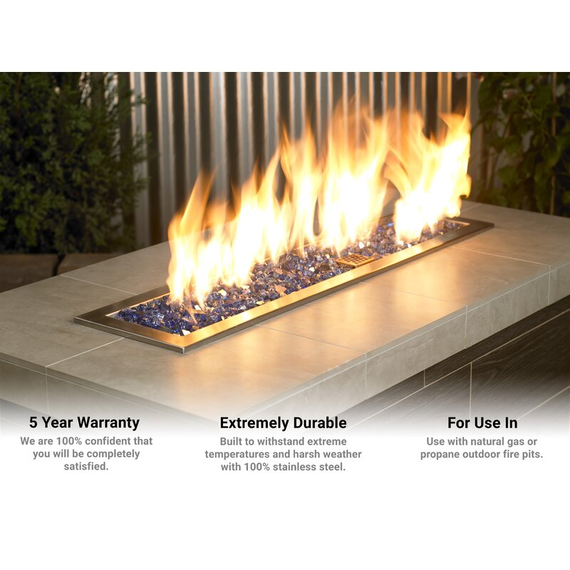 American Firegl Stainless Steel Fire