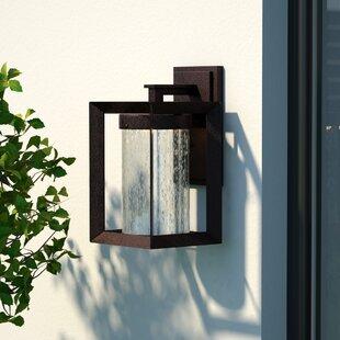 Ervine 1-Light Outdoor Wall Lantern by Corrigan Studio