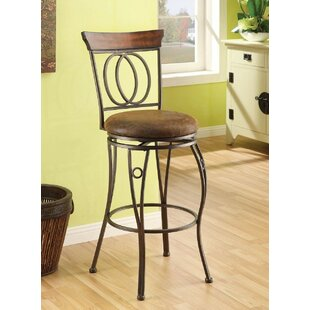 Trujillo 29 Swivel Bar Stool (Set of 2) Fleur De Lis Living