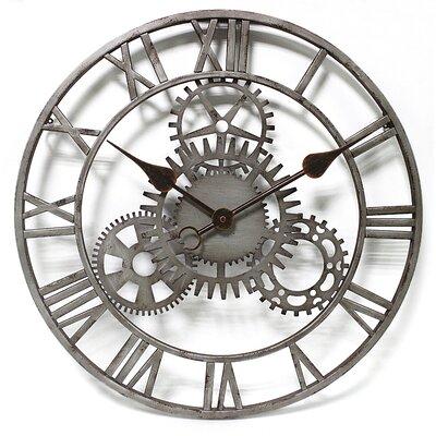 Wanduhr Fiora The Cog 51 cm   Dekoration > Uhren   Dark   Williston Forge