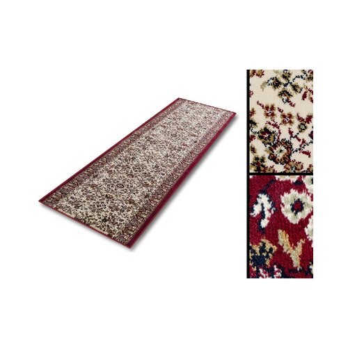 Flippen Tufted Beige/Red Rug Astoria Grand Rug Size: Runner
