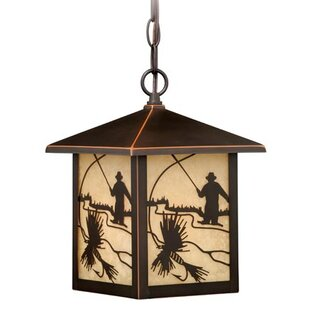 Loon Peak Pittview 1-Light Outdoor Hanging Lantern