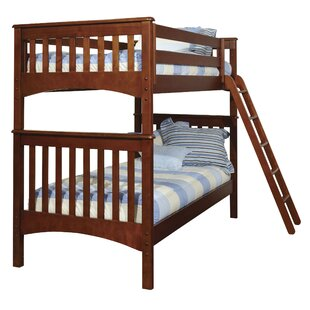 Harriet Bee Bonneau Modern Twin Bunk Bed