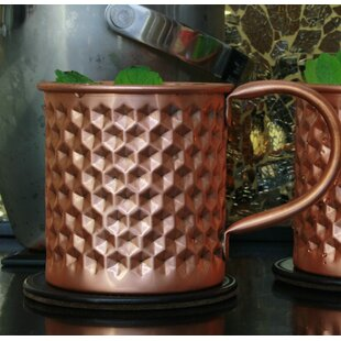 The Hex Hammered Moscow Mule Mug
