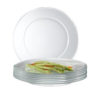 Mazus 10.5  Dinner Plate (Set of 12)  sc 1 st  AllModern & Modern u0026 Contemporary Dinner Plates Set | AllModern