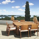 Stackpole 9 Piece Dining Set with Cushions