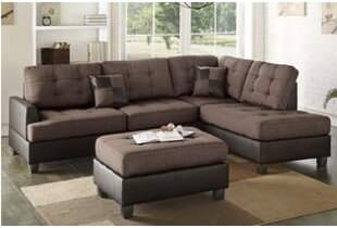 Smart Sectional with ottoman