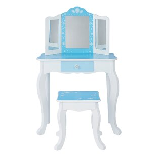 Beard Dressing Table Set With Mirror By Harriet Bee