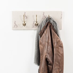 Brady Wall Mounted Coat Rack By Alpen Home