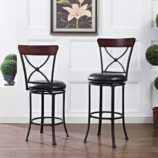 Jessamine 42.25 Swivel Counter Bar Stool by Red Barrel Studio