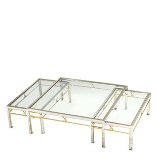 Lindon 3 Piece Coffee Table Set