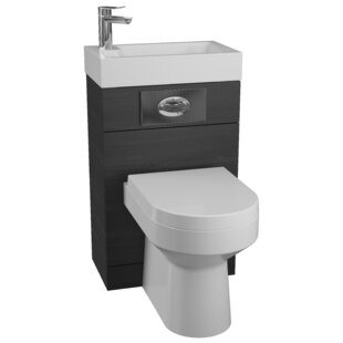 Kaira 506mm Two-In-One Wash Basin & Toilet Unit By Metro Lane
