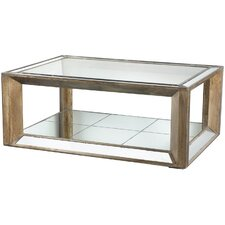 Mirrored Coffee Table by A&B Home