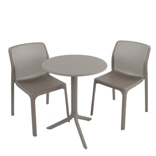 Paulina Dining Set With 2 Chairs By Sol 72 Outdoor