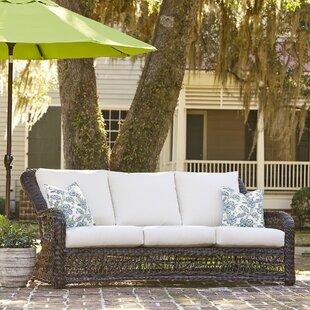 Birch Lane™ Rosemead Patio Sofa with Sunbrella Cushions