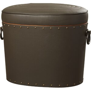 Leather  Ottoman by Darby Home Co