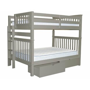 Treva Full over Full Bunk Bed with Storage