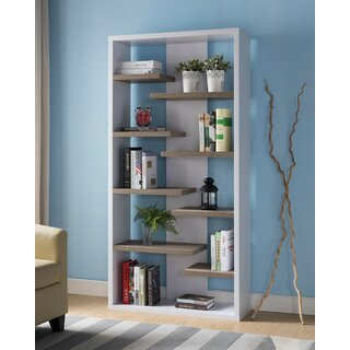 Ailbe Geometric Bookcase by Latitude Run SKU:DB412589 Price Compare