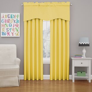 Yellow Gold Blackout Curtains