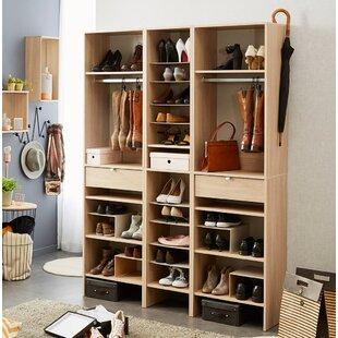 Rebrilliant Byron Shoe Storage Cabinet