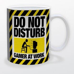 Do Not Disturb Gamer at Work Coffee Mug