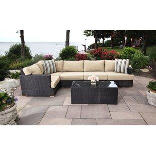 Madbury Road Salina 6 Piece Sectional Set with Cushions
