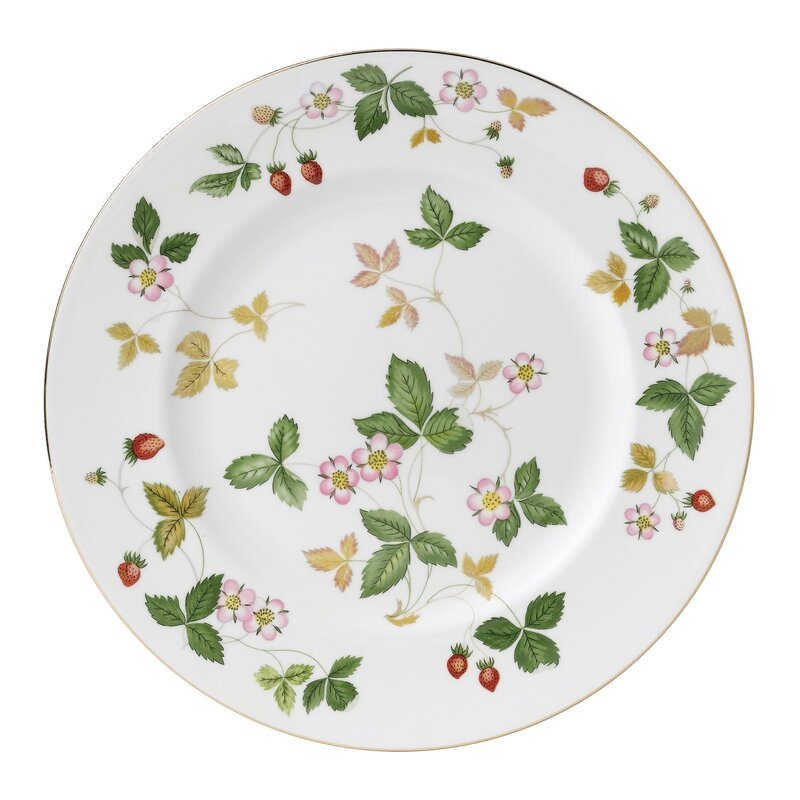 "Wild Strawberry 10.75"" Dinner Plate"