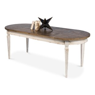 Constance Solid Wood Dining Table by Sarreid Ltd