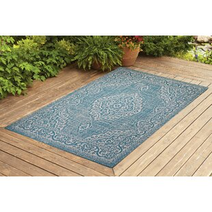 Krantz Turquoise Indoor/Outdoor Area Rug