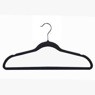 Best Deals Soft Grip Anti Slip Suit Hanger (Set of 10) ByRichards Homewares