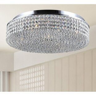 House of Hampton Mckee 4-Light Flush Mount