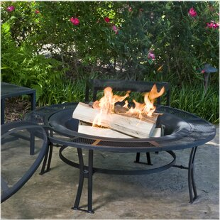 CobraCo Steel Wood Burning Fire Pit