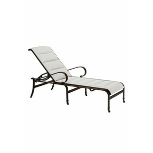 Torino Chaise Lounge With Cushion by Tropitone Fresh