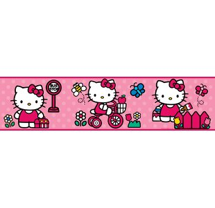 hello kitty furniture. Hello Kitty Room Border Wall Mural Furniture S