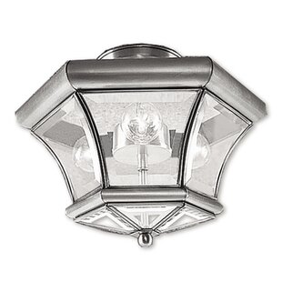 Wilcoxon Semi Flush Mount by Alcott Hill