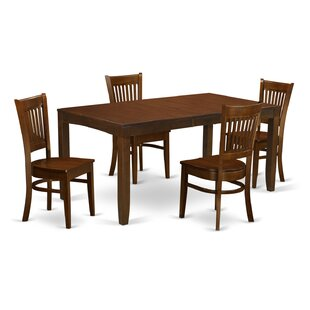 Lynfield 5 Piece Dining Set East West Furniture