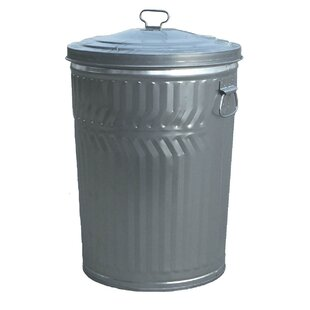 Witt Economy Galvanized Trash Can