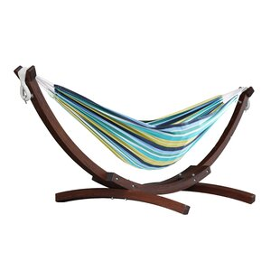 Kelsi Cotton Double Hammock With Stand by Freeport Park Great Reviews