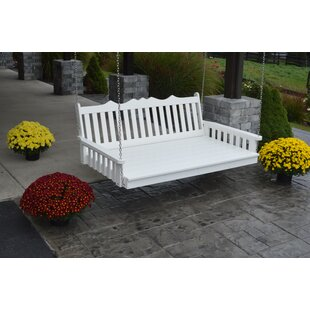 A&L Furniture Poly Royal English Porch Swing