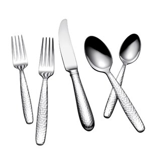Summersby 45 Piece Flatware Set. by Yamazaki  sc 1 st  Wayfair & Wrought Iron Flatware | Wayfair