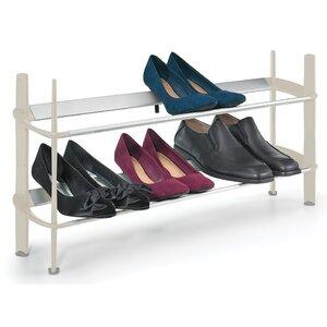 Stapelbares Schuhregal Mod für 8 Paar Schuhe vo..