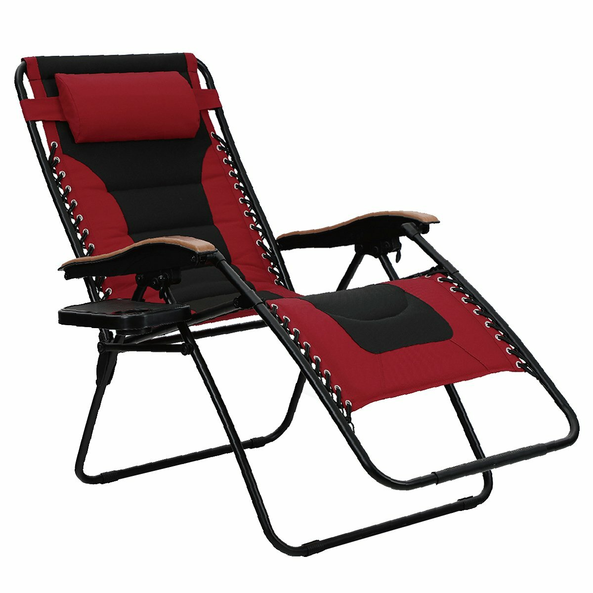 Excellent Oversized Padded Reclining Zero Gravity Chair With Cushion Ncnpc Chair Design For Home Ncnpcorg