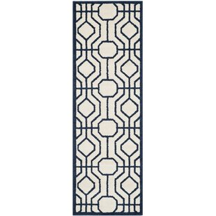 Seto Ivory/Navy Indoor/Outdoor Area Rug