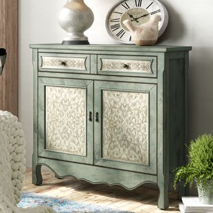 Lark Manor Palos Antique 2 Door Accent Cabinet