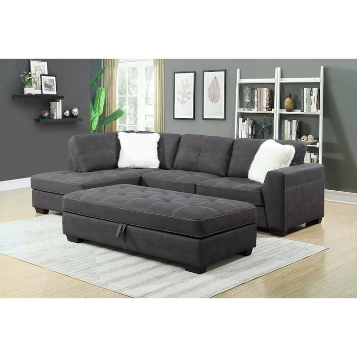 Hydeville Modular Sectional with Ottoman