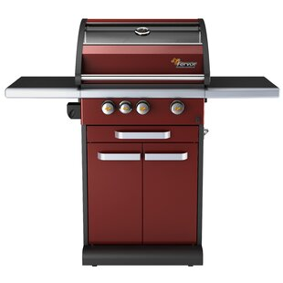 3-Burner Propane Gas Grill With Cabinet By Fervor