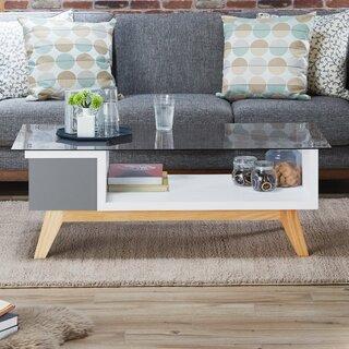 Alijah Coffee Table with Storage by Brayden Studio SKU:CD317869 Information